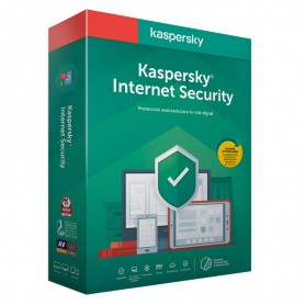 SOFTWARE ANTIVIRUS KASPERSKY 2020 INTERNET SECURITY MULTIDEVICE 3 LICENCIAS