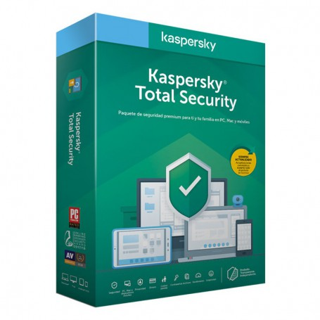 SOFTWARE ANTIVIRUS KASPERSKY 2020 TOTAL SECURITY 3 LICENCIAS