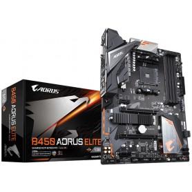 PLACA BASE AMD SAM4 GIGABYTE B450 AORUS ELITE 4DDR4 PCIE M2 4SATA3.1 DVI-D RGB H