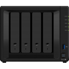 UNIDAD NAS SYNOLOGY DISK STATION 4 2.3GHZ DS918