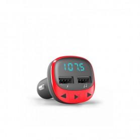 TRANSMISOR ENERGY  FM CAR TRANSMITTER RED 448258
