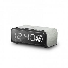 ALTAVOCES ENERGY BLUETOOTH CLOCK SPEAKER 4 CHARGE DESPERTADOR 10W WIRELESS 448692