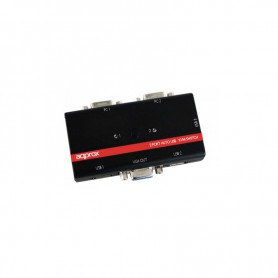 DATA SWITCH AUTOMATICO APPROX KVM 2PC 1P VGA IN 3USB APPKVMUSB2PV2