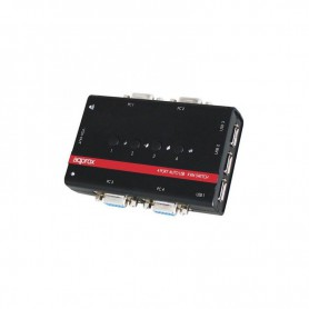 DATA SWITCH AUTOMATICO APPROX KVM 4PC 1PVGAIN 3USB 1JACKAUDIO MICRO APPKVMUSB4PA2