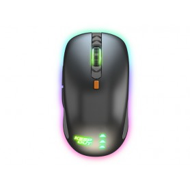 RATON KEEP OUT LASER GAMING MOUSE 4000DPI 6 BUTTONS X5PRO