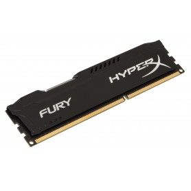 MEMORIA DDR3  8GB PC3-12800 1600MHZ HYPERX FURY  BLACK KINGSTON 1.5V HX316C10FB8