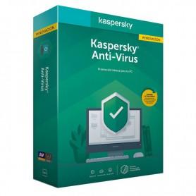 SOFTWARE ANTIVIRUS KASPERSKY 2020 ANTIVIRUS 3 LICENCIAS RENOVACION
