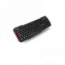 TECLADO ZE USB MKB04 MULTIMEDIA NEGRO ZE-MKB04