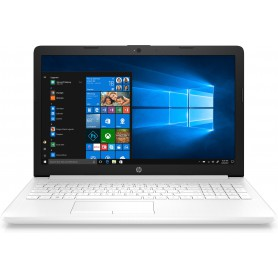 PORTATIL HP 15-DA0180NS N4000  8GB 128GBSSD 15.6 HD HDMI BT  W10 BLANCO NIEVE