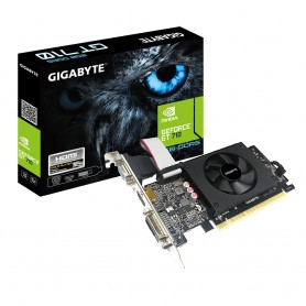 VGA  PCI-EX NVIDIA  GIGABYTE GT710 2GB DDR5 HDMIDVIVGA 1VE LOW PROFILE