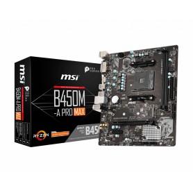 PB AMD SAMD4 MSI B450M-A PRO MAX 2DDR4HDMIVGAMATX