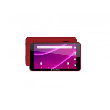 TABLET  PC  SUNSTECH TAB781 RED QC 1.2GHZ 1GB 8GB 7 17.7CM 1024600 A 8.1 VGA