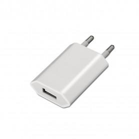 CARGADOR USB IPHONE IPOD 5V1A (5W MAX.) BLANCO 240V  AISENS  A110-0063