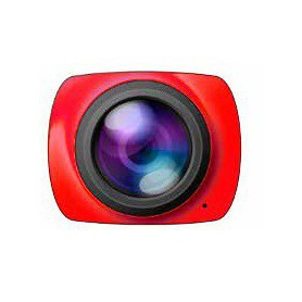 CAMARA DEPORTIVA BILLOW XS360PROR 360 ACTION CAMERA RED