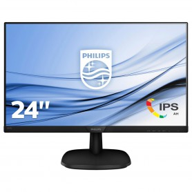 MONITOR 23.8 LED PHILIPS 243V7QDAB00 FHD HDMI DVI VGA MM2*2W