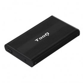 CARCASA DISCO DURO TOOQ 25P 95 MM SATA USB 2.0 NEGRA TQE-2510B