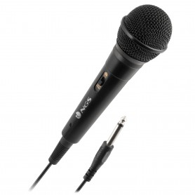 MICROFONO DE VOZ NGS SINGER FIRE CABLE 3M - JACK 63 MM- ONOFF