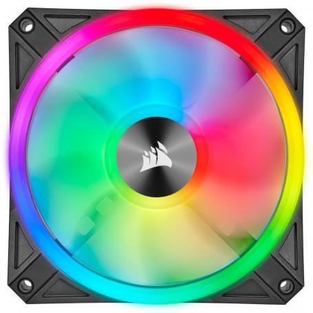 VENTILADOR CAJA ADICIONAL 12X12 CORSAIR QL120 RGB
