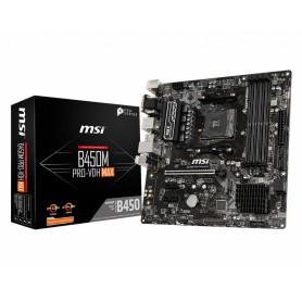 PB AMD SAMD4  MSI B450M PRO-VDH  4DDR4 - HDMI - VGA - MATX