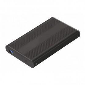 CARCASA DISCO DURO TOOQ 25P 95 MM SATA USB 3.0 NEGRA TQE-2524B