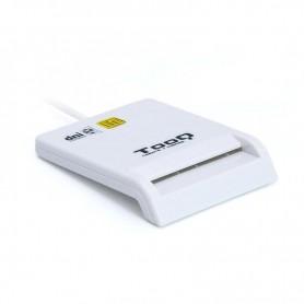 LECTOR TARJETA MEMORIA EXTERNO TOOQ DNIE USB 2.0 BLANCO TQR-210W