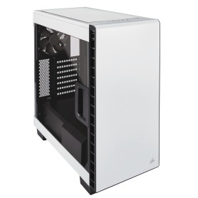 CAJA  ATX SEMITORRE CORSAIR CARBIDE 400C CLEAR BLANCA MID TOWER CC-9011095-WW