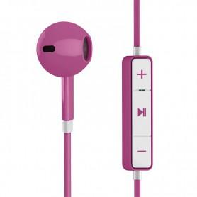 AURICULAR ENERGY EARPHONES 1 BLUETOOTH CONTROL TALK RECHARGEABLE PURPLE 446926