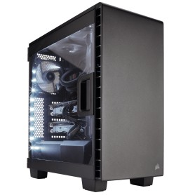 CAJA  ATX SEMITORRE CORSAIR CARBIDE 400C CLEAR NEGRA MID TOWER CC-9011081-WW