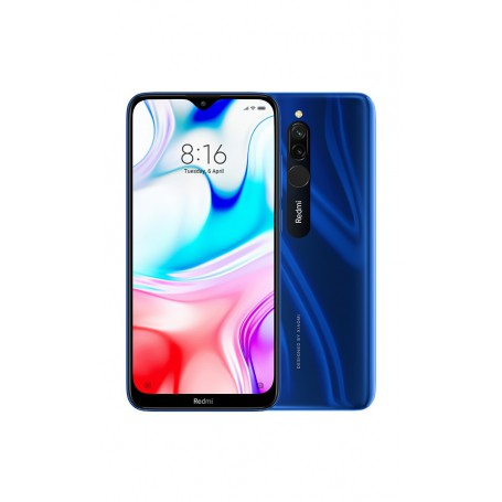 TELEFONO XIAOMI REDMI 8 P6.22 OC 3GB 32GB 1228MP AND9.0 AZUL MZB8416EU
