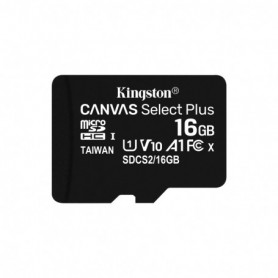 MEMORIA  SECURE DIGITAL MICRO SDHC  16GB KINGSTON CLASE10  SDCS216GB