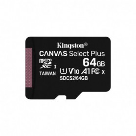 MEMORIA  SECURE DIGITAL MICRO SDXC  64GB KINGSTON CLASE10  SDCS264GB