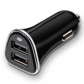 CARGADOR DE COCHE USB TOOQ TQCC-2002 2XUSB 3.4 A(TOTAL) AI-TECH NEGRO TQCC-2002