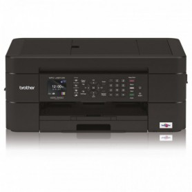 IMPRESORA BROTHER MF INKJET COLOR  MFCJ491DW FAX DOBLE CARA WIFI(LC3211)