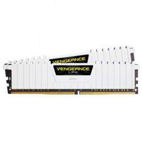 MEMORIA RAM KIT DDR4 32GB(2X16GB) PC4-24000 3000MHZ CORSAIR VENGE BLANCA UC
