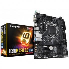 PLACA BASE S1151 GIGABYTE H310M S2H 2.0 DDR4 PCIE SATA3 USB3.1 HDMI DVI-D MATX