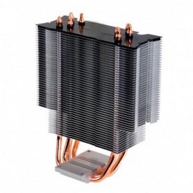 REFRIGERADOR CPU MULTIZOCALO COOLBOX CYCLONE LED 4HEATPIPES LGA2011 1151 AM4