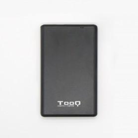 CARCASA DISCO DURO TOOQ 25P 95 MM SATA USB 3.1 GEN2 USB-C NEGRA TQE-2533B
