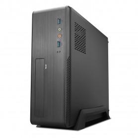 CAJA  MICRO-ATXMINI-ITX  SLIM TOOQ  2USB3 500W NEGRA TOOQ TQC-3006DU3C