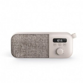 ALTAVOCES ENERGY PORTATIL FABRIC BOX RADIO CREAN 3W 449828