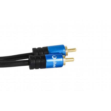 CABLE DIGITAL COAXIAL - 1RCA A 1RCA SILVER TH 2M 93014