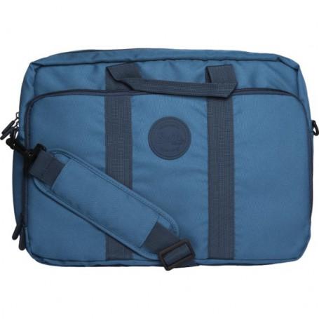 MALETIN PORTATIL 15.6 SILVER HT SMART LAPTOP BAG BLUE 17212