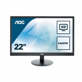 MONITOR 21.5 LED AOC  E2270SWHN 1920X1080 FULL HD (1080P) VGA HDMI NEGRO