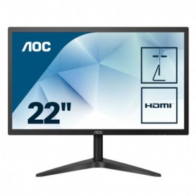 MONITOR 21.5 LED IPS AOC 22B1HS 1920X1080 FULL HD (1080P) VGA HDMI SLIM FEX NEGRO