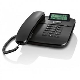TELEFONO SOBREMESA GIGASET FIJO DA610 NEGRO
