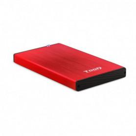 CAJA EXTERNA 2.5 TOOQ 95 MM SATA USB 3.03.1 GEN1 ROJA TOOQ TQE-2527R