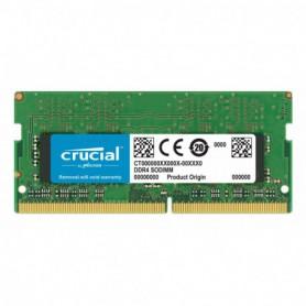 MEMORIA SODIMM DDR4 16GB PC4-19200 2400MHZ CRUCIAL CL17 1.2V CT16G4SFD824A
