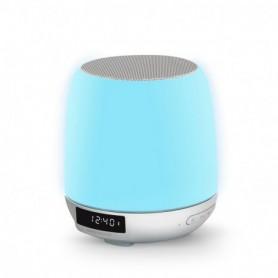 ALTAVOCES ENERGY BLUETOOTH CLOCK SPEAKER 3 LIGHT 8W RADIO-DESPERTADOR 448708