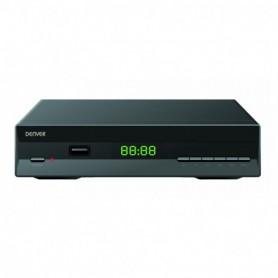 RECEPTOR TDT 2 SOBREMESA DENVER DTB-140 HDMI USB REPRODUCTOR LED