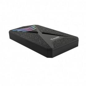 CAJA EXTERNA 2.5 TOOQ GAMING SATA USB3.03.1 GEN1 RGB TQE-2550RGB