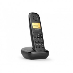 TELEFONO FIJO INALAMBRICO GIGASET A170 MONO NEGRO S30852-H2802-D201